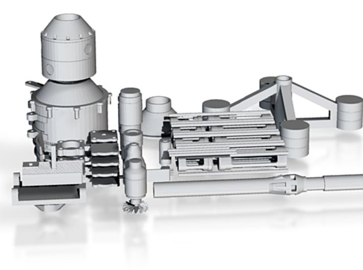 Shiva Laser 3d printed