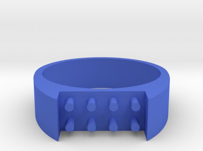 8-bit ring (US6/⌀16.5mm) 3d printed