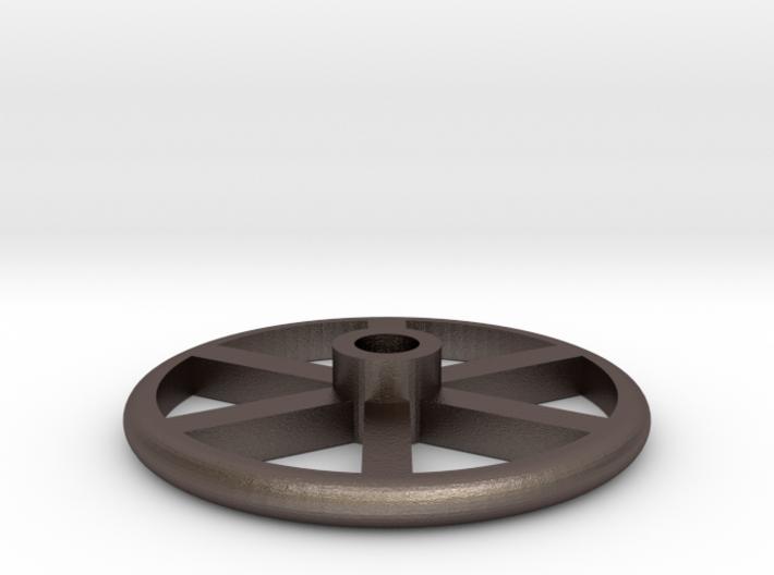 "1.5"" Scale Brake Wheel #2 3d printed"