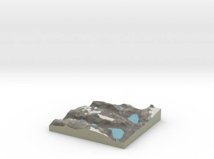 Terrafab generated model Sun Aug 17 2014 23:32:00 3d printed