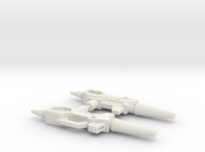 TF Titans Return Kup Weapon 2 pack 3d printed