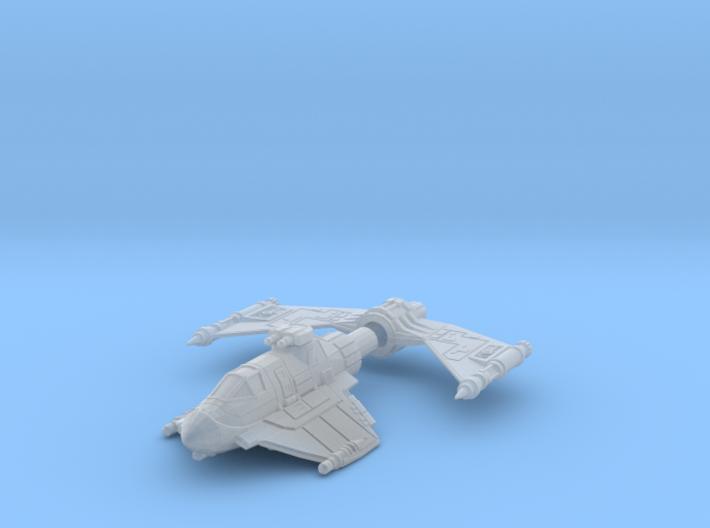 Blastboat 1/270 3d printed
