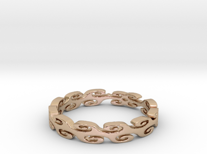 Lehi Swirl (Size 6.5) 3d printed