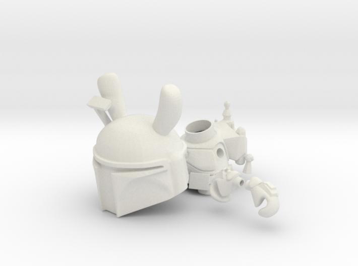 Boba Bunny 3d printed