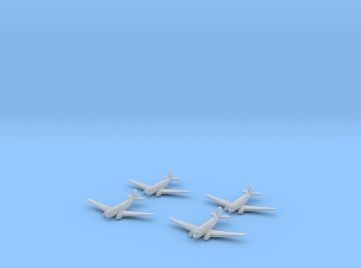C-47 Skytrain Transport-1/700-(Qty. 4) 3d printed