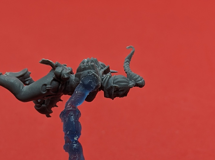 Harlequin Space Elf - Embrace With LH Arm x5 3d printed