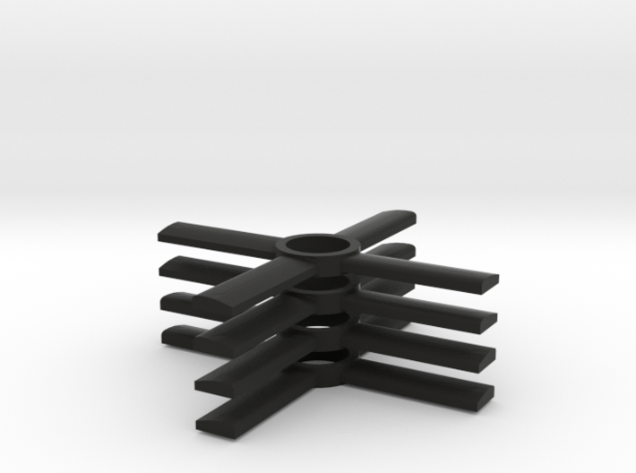 Propellers for the Spaceship of the Ezekiel 3d printed