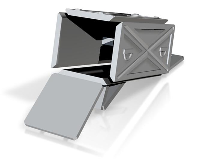 X-7 Launcher box parts 3d printed