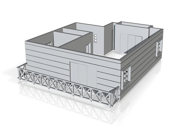 Pent floor plan_150cr 3d printed