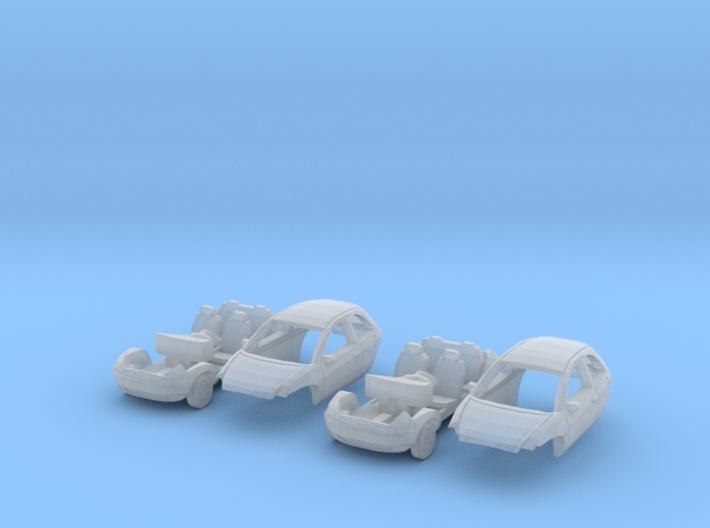 SET 2x Ford Ka (TT 1:120) 3d printed