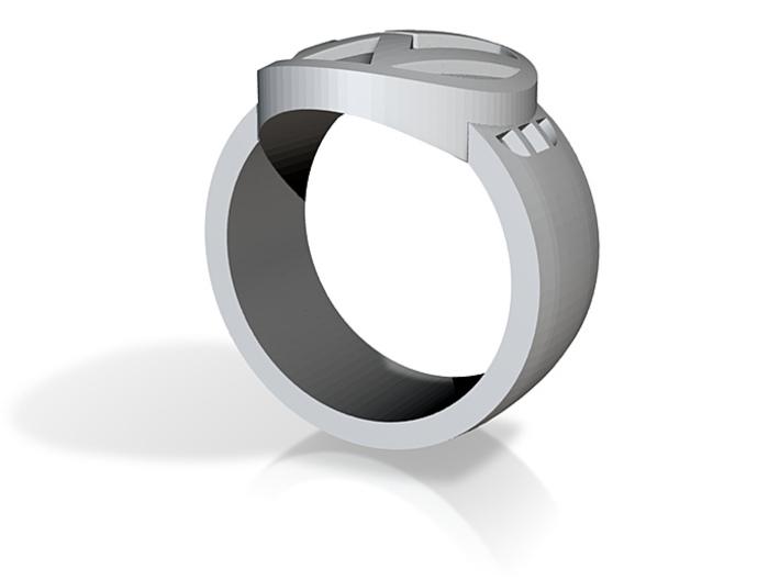 VW ring Sz 10 3d printed