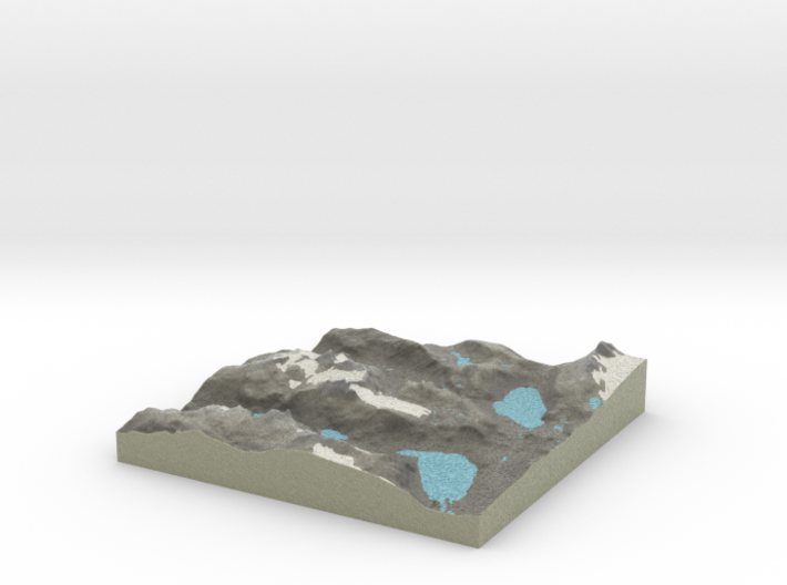Terrafab generated model Wed Aug 13 2014 15:06:03 3d printed