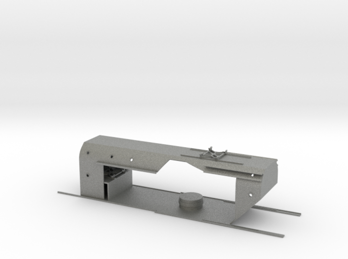 1/200 DKM Gneisenau - Hangar Open SET 3d printed
