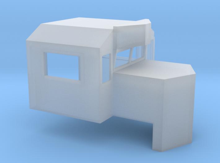 Admiral Cab For GP33ECO, GP59E HO 3d printed
