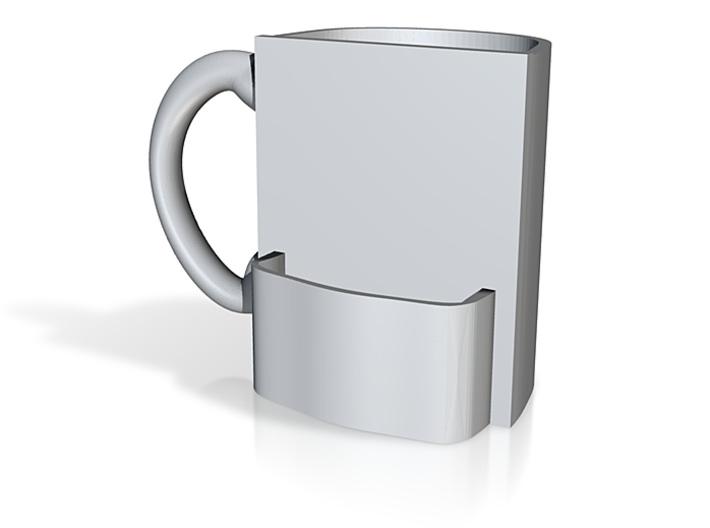 Half Mug with Holder 3d printed