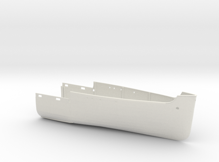 1/100 HMS Elfreda Hull Fore 3d printed
