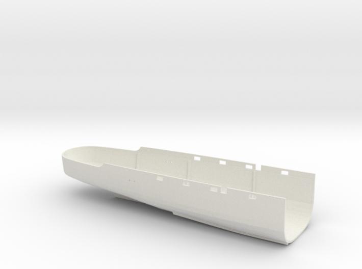 1/100 HMS Elfreda Hull Aft 3d printed