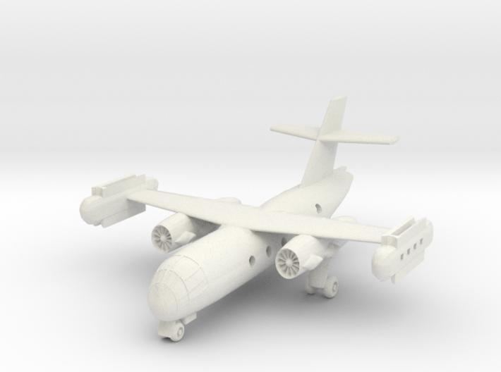1/300 Dornier DO 31 on the ground 3d printed
