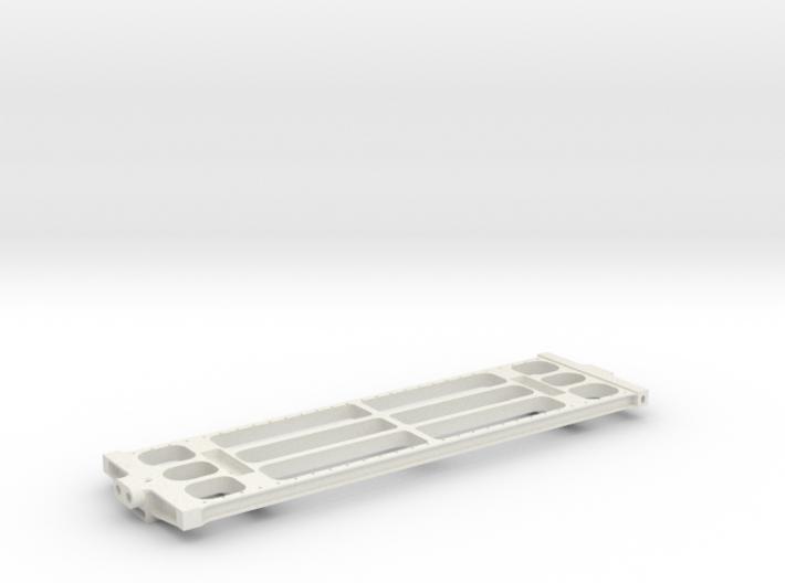 "3/4"" Scale USRA 10,000 Gallon Tender Frame 3d printed"