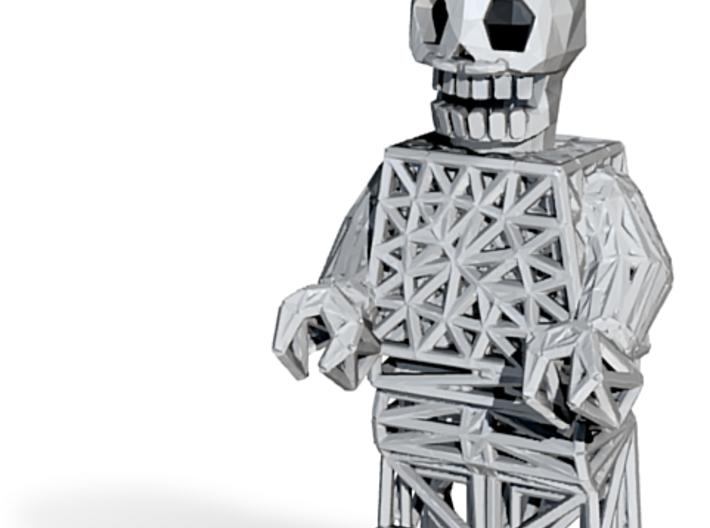 Los Muertos Lego Man Key Chain 3d printed