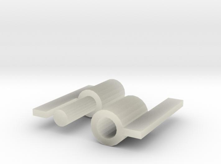Hinge Test Mini (Separated) 3d printed