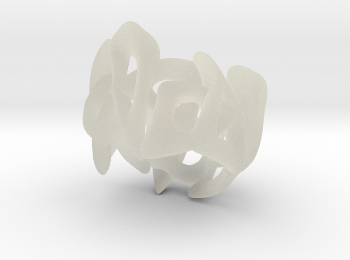 Open work ring 3d printed