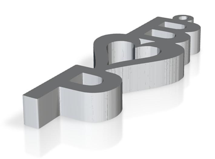 BandP Pendant 3d printed