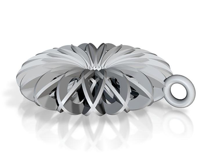 Calatrava Jewellery forms 144 80mm dia pendant 3d printed