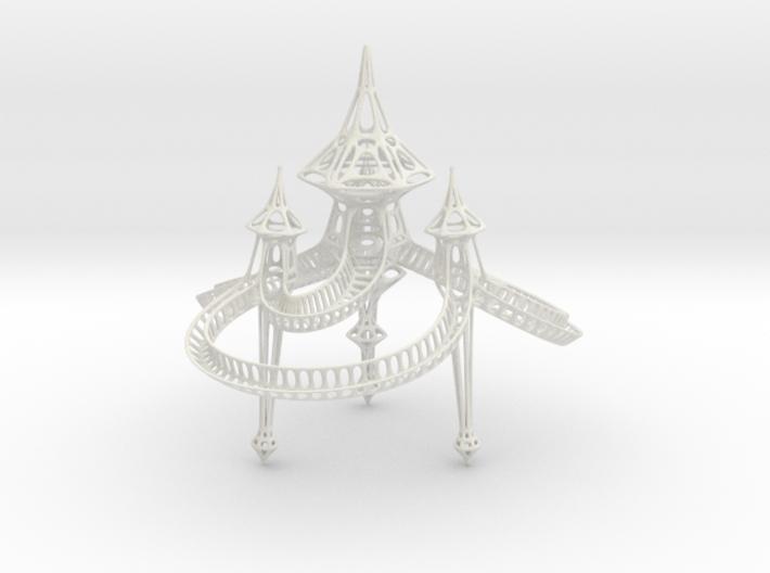 Large Sky Castle 3d printed