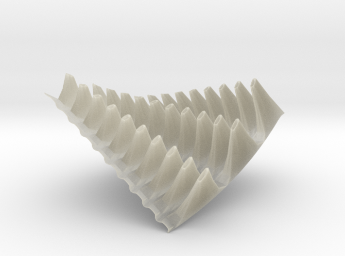 Complex surface 4 3d printed