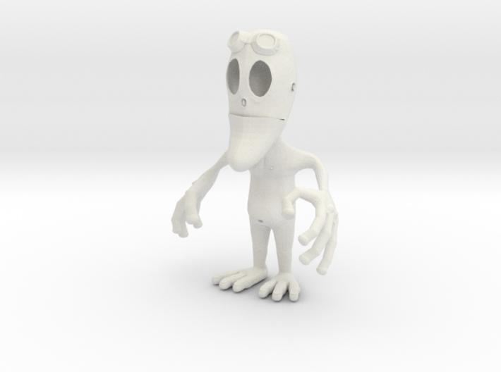 Alien Pen Holder 3d printed