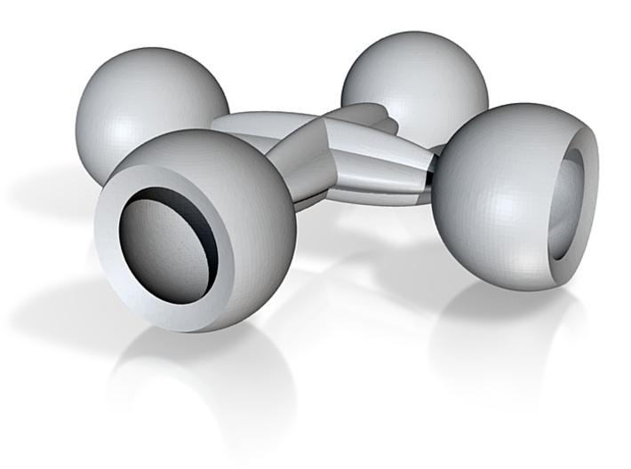 4 socket balls 6mm 3d printed