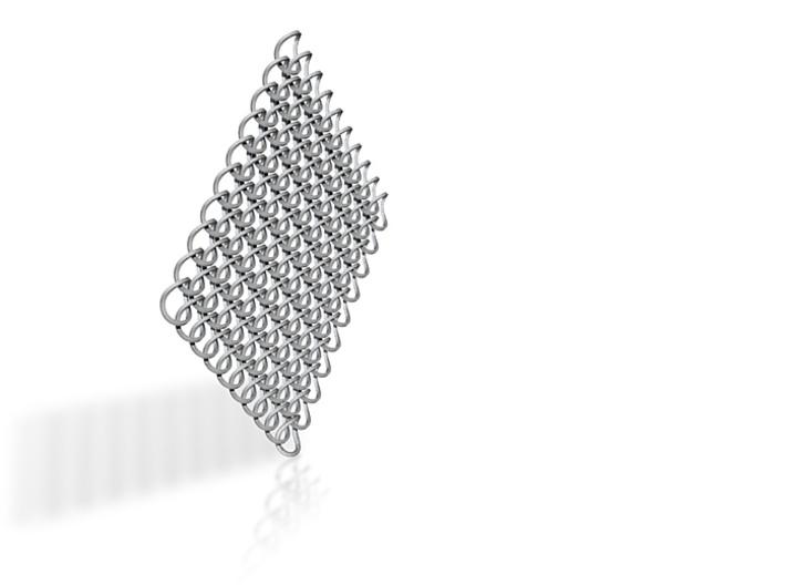 Kettenhemd 10x10 1 [square] 3d printed