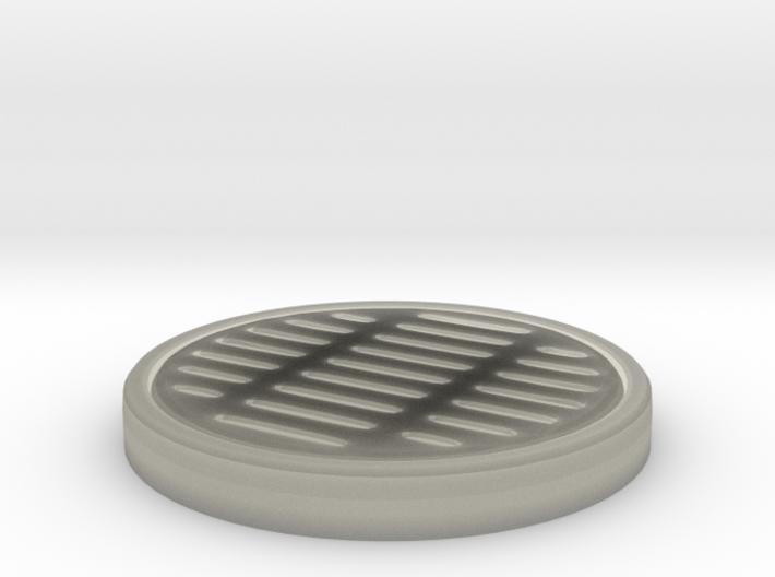 Circular storm drain 3d printed