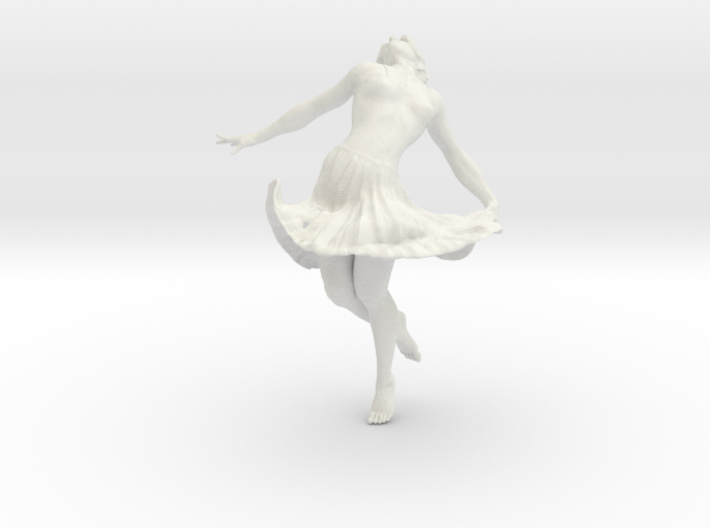 Dancing Girl 15.0 cm 3d printed