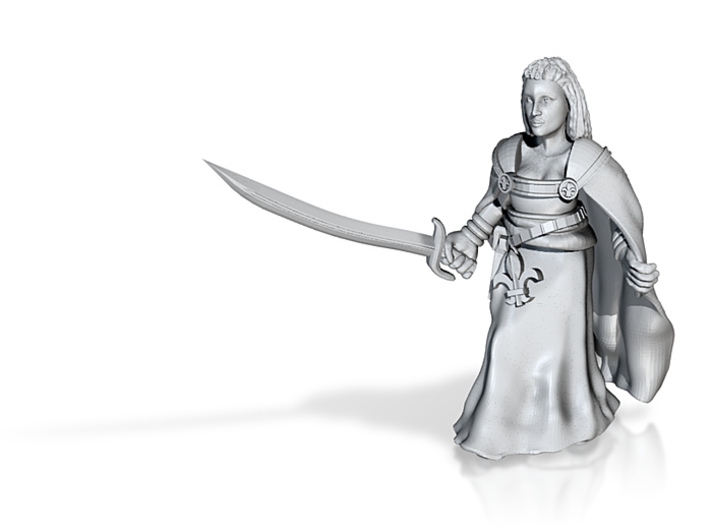 Inquisitor Zari 3d printed