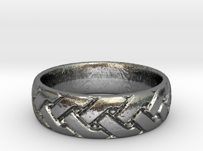 Celtic knot seamless Ring 2 3d printed
