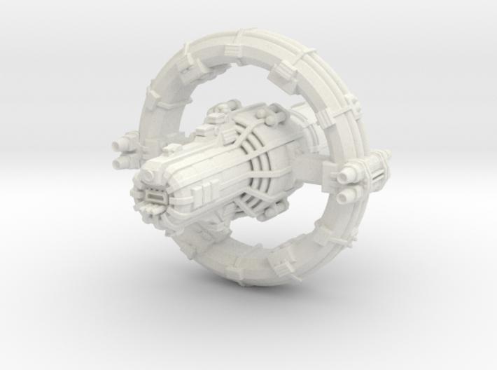 Jovian Europa class Command Carrier 3d printed