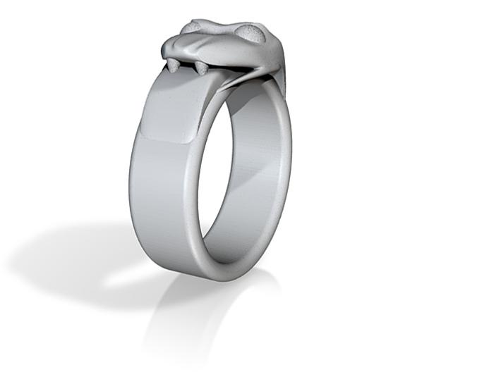 khappouroboros ring inner diameter 20mm 3d printed