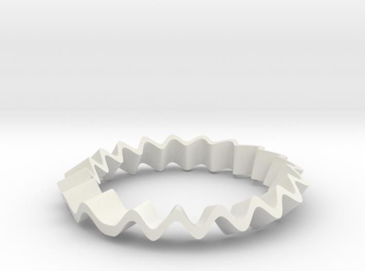 Crazy Ring 3d printed
