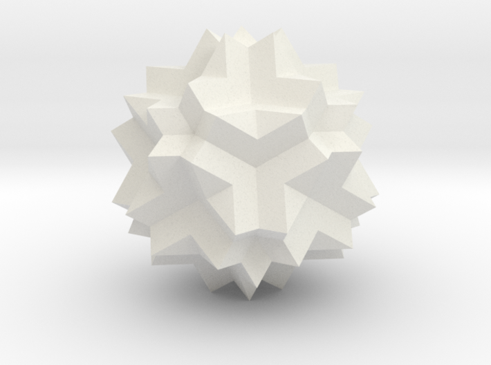 Great Dodecicosidodecahedron 3d printed