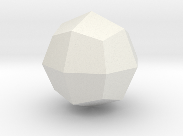 Great deltoid icositetrahedron 3d printed