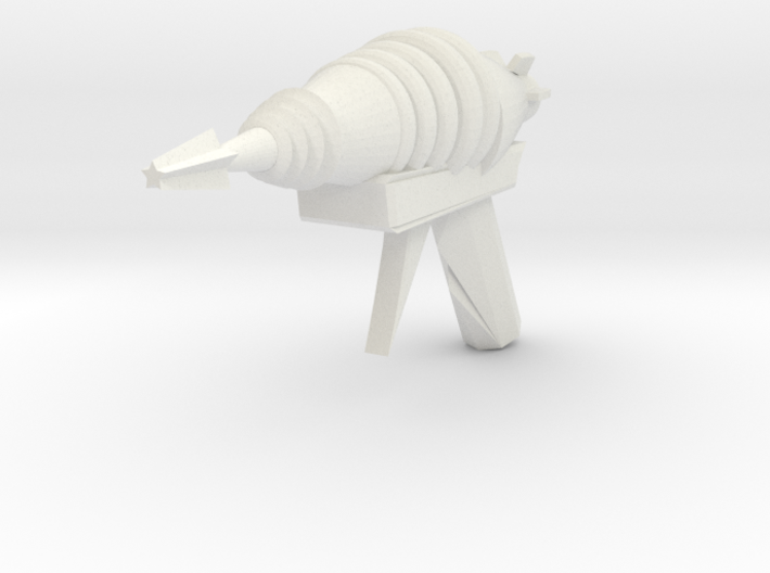 Raygun Four 3d printed
