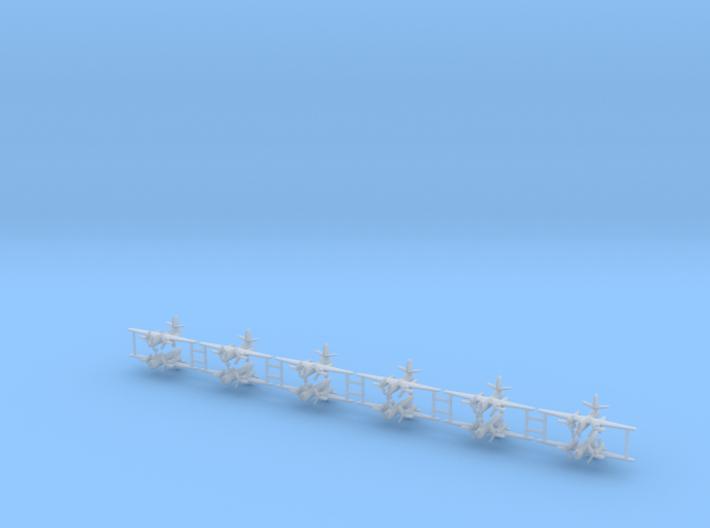 1/700 C-1 Trader (x12) 3d printed