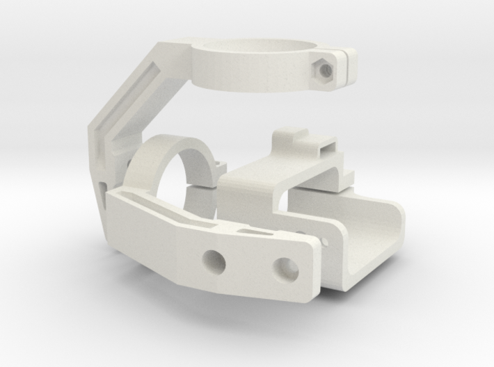 Mobius Gimbal - Roll and Pitch Assembly 3d printed