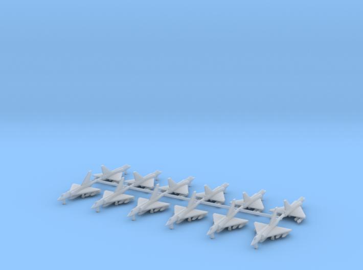 1/700 Dassault Mirage 2000C (x12) 3d printed