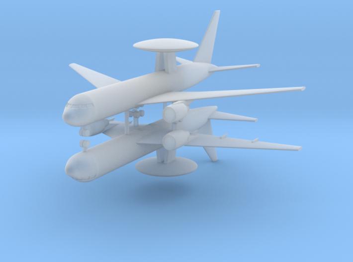 1/700 Boeing E-767 AEW&C (x2) 3d printed