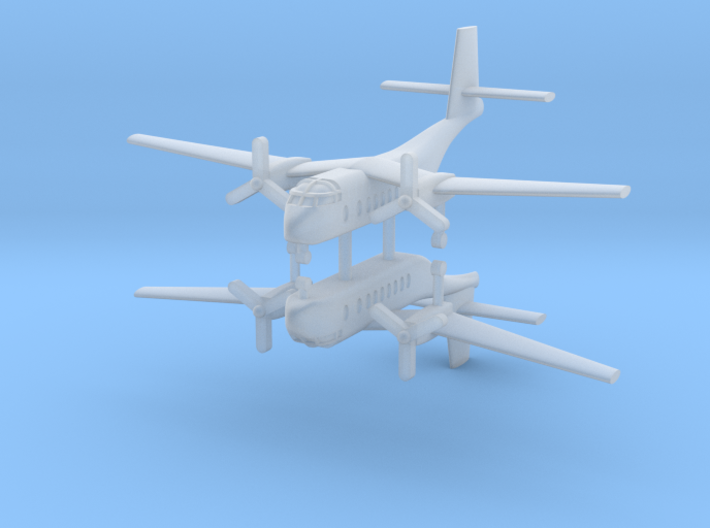 1/700 DHC-4A Caribou (x2) 3d printed