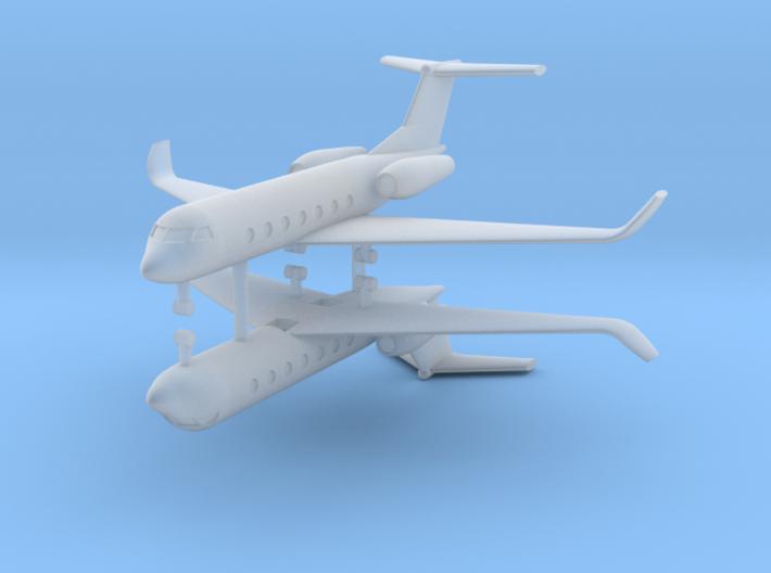 1/700 Gulfstream G550 (x2) 3d printed