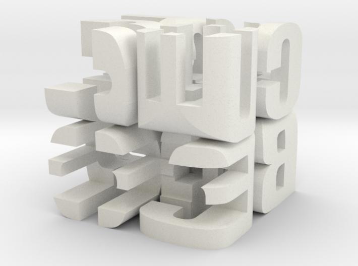 """Cube"" Cube 3d printed"